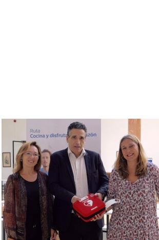 """La ruta """"Cocina y disfruta, de corazón"""" que organizan España Salud y Philips, llega a Santander tras pasar por Málaga"""