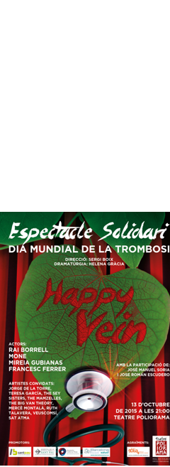 España Salud organiza un espectáculo solidario en el Teatre Poliorama de Barcelona
