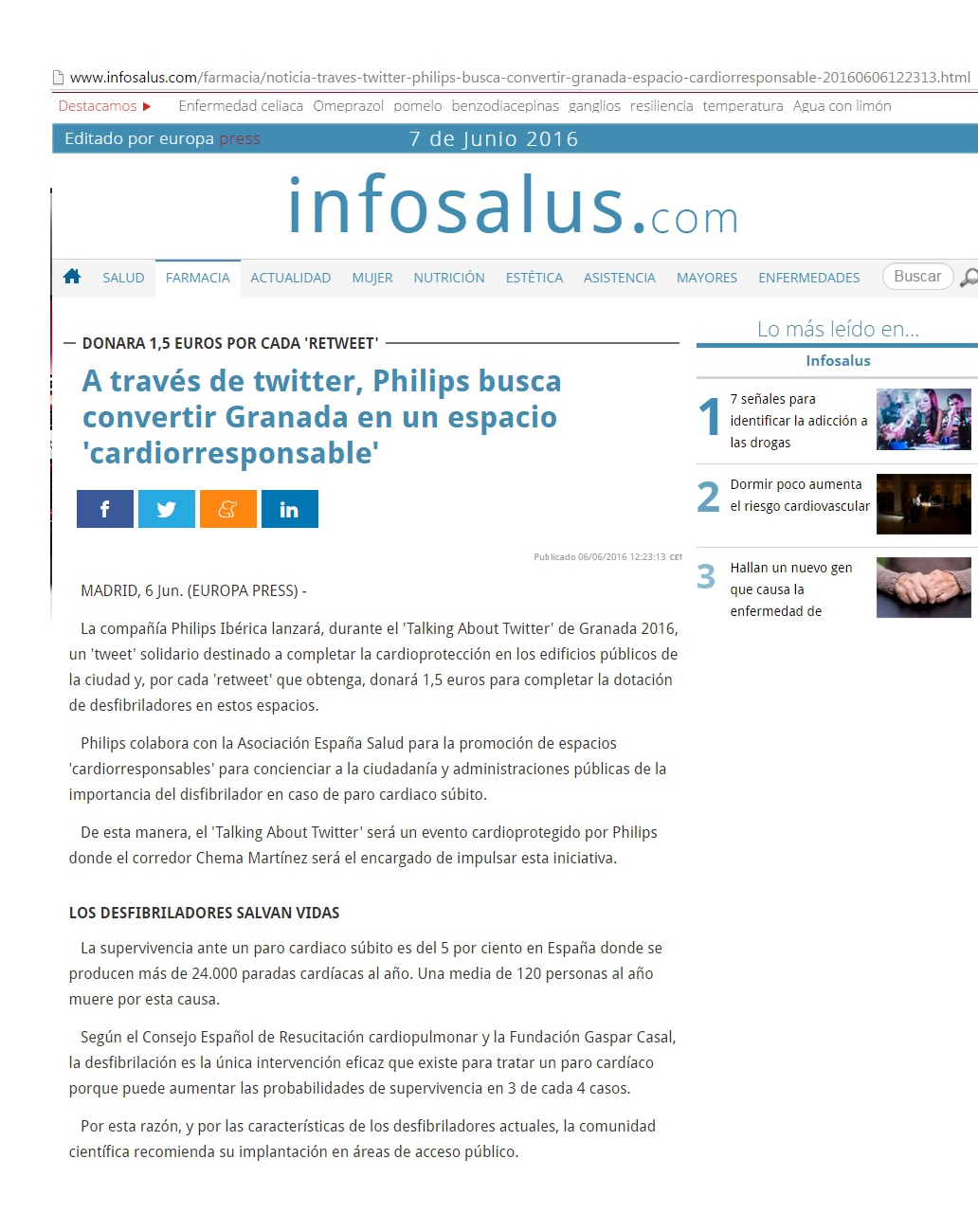 EUROPAPRESS.JUNIO.PHILIPS