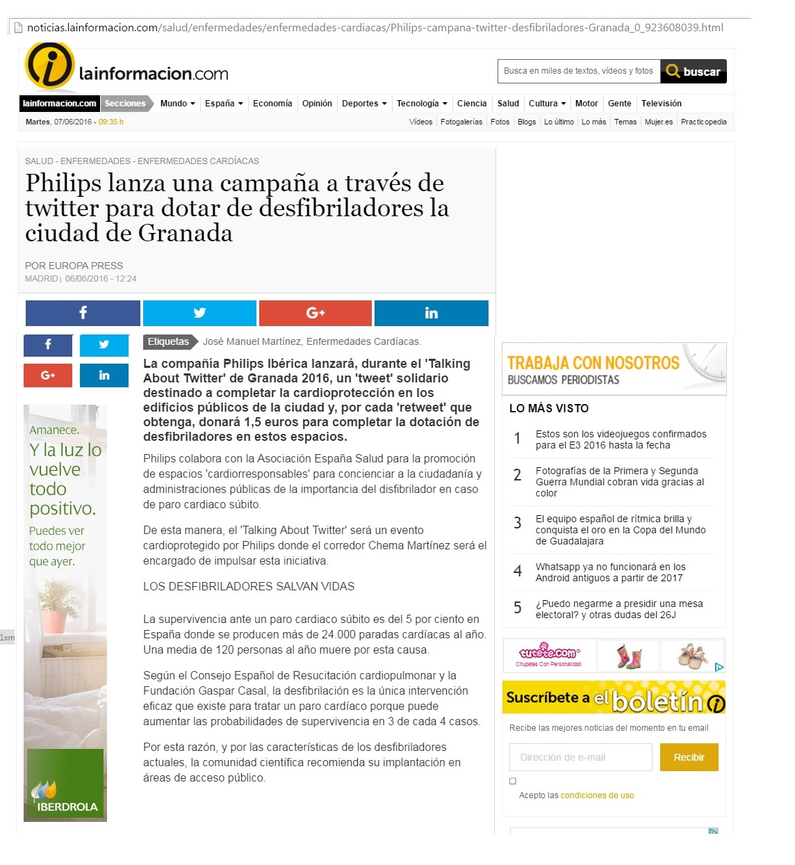 LAINFORMACION.JUNIO.PHILIPS