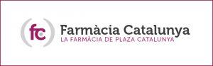 Desfibrilador en Farmacia Catalunya en el centro de Barcelona.
