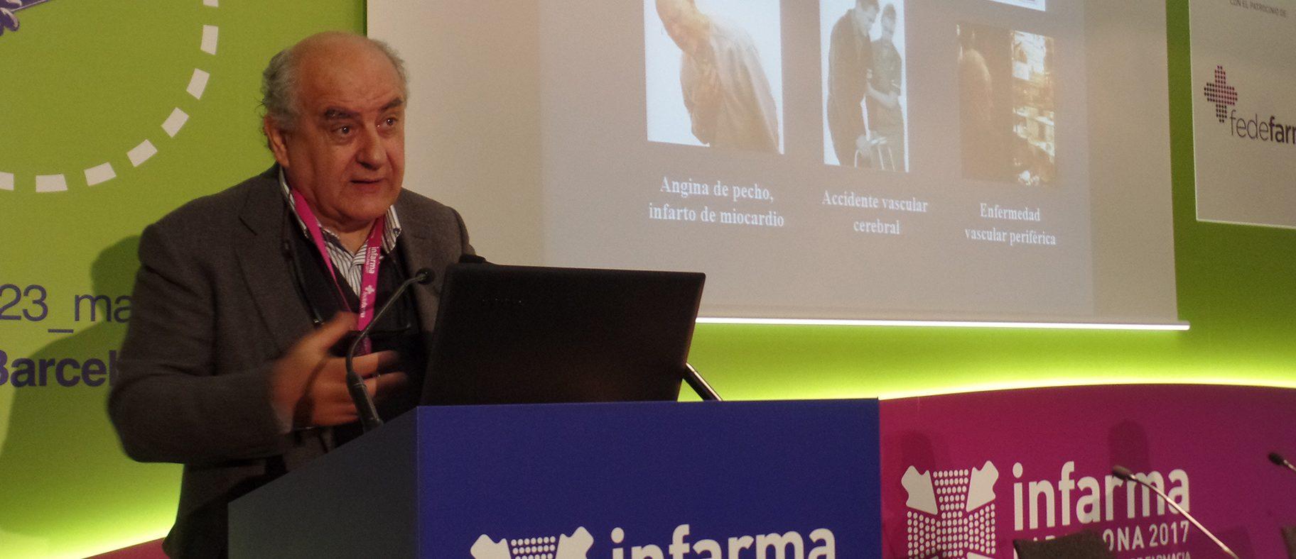 """Conferencia a Infarma a cargo del Dr. Josep Brugada, uno de los impulsores del proyecto """"España, territorio cardioprotegido"""""""