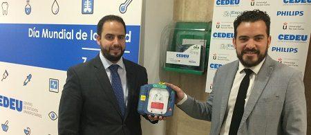 España Salud y CEDEU llevan la cardioprotección a la universidad