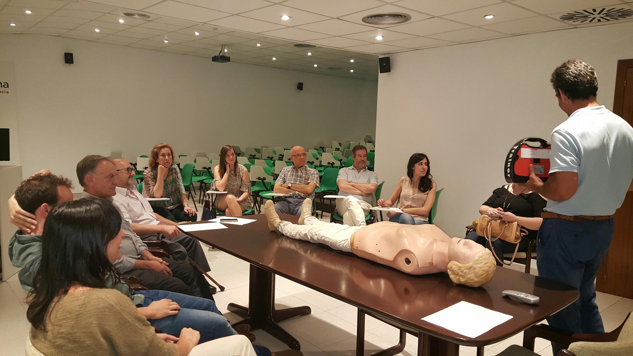 Talleres de RCP para farmacéuticos en Castellón