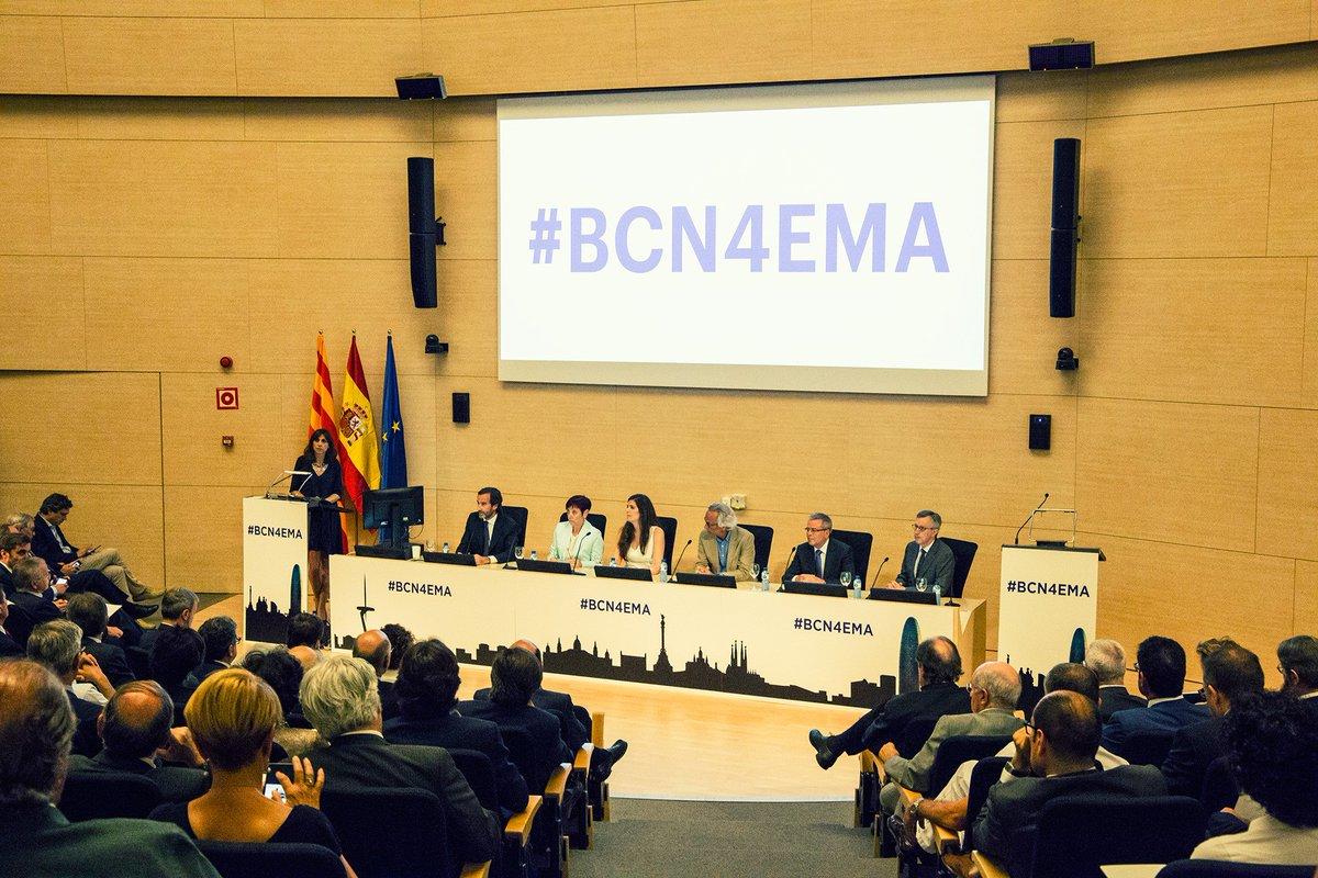España Salud promueve la candidatura de la Ciudad Condal para sede de la EMA